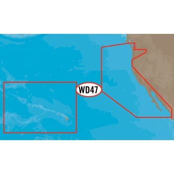 C-MAP 4D West Coast and Hawaii Full Wide
