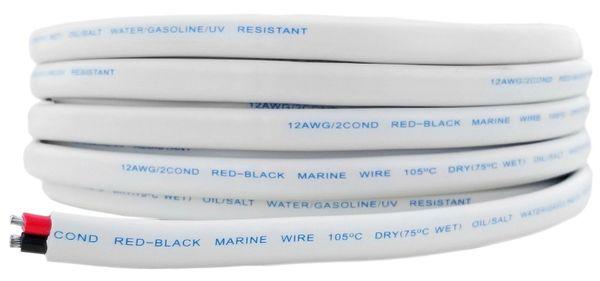 12 Gauge 2 Conductor Marine Grade Wire