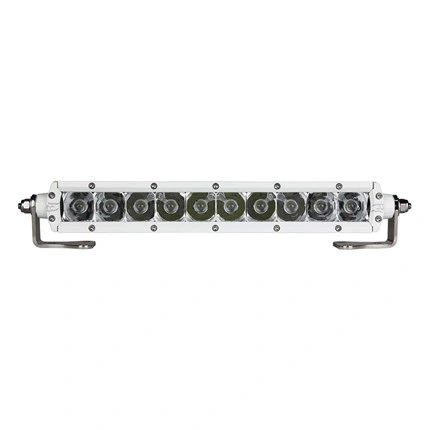 Marine SR-Series 10 White LED Light Bar