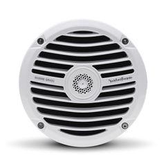 "Rockford Fosgate RM0652 White Prime 6.5"" 50W Coax Marine Speakers"