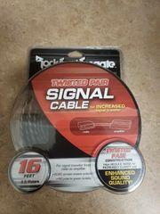 Rockford Fosgate RFIT-20 20' Premium Dual Twist RCA Cable