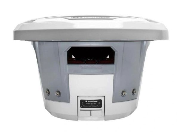 "Rockford Fosgate PM212S4X White 600 Watt 12"" Single 4 Ohm Marine Subwoofer"