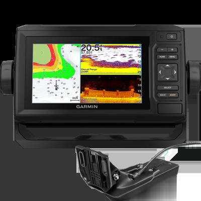 Garmin EchoMap UHD 64CV Chartplotter Chirp Sounder With GT24UHD-TM Transducer