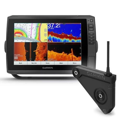 Garmin ECHOMAP Ultra 106sv Bundle, G3 Offshore Charts, Includes GT54UHD-TM and LVS12 Transducer