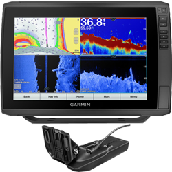 """Garmin EchoMap Ultra 126sv 12"""" Chartplotter/Fishfinder G3 Offshore Charts w/Transducer"""
