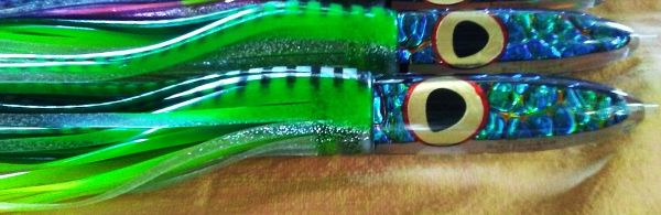 2. Green DragonHide Bullet w/Gold Leaf Eyes