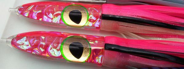 2. Pink DragonHide Bullet w/Gold Leaf Eyes