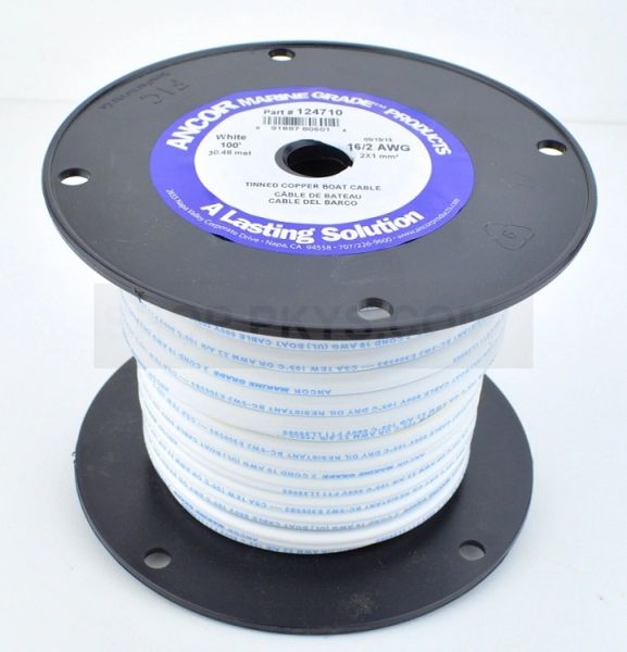 100' Spools Red/Black ABYC Certified Marine Grade Wire