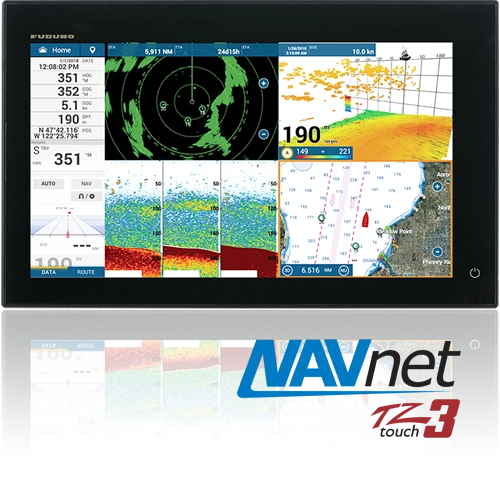 "Furuno Navnet TZ Touch 3 16"" Touch Screen Multifunction Display"