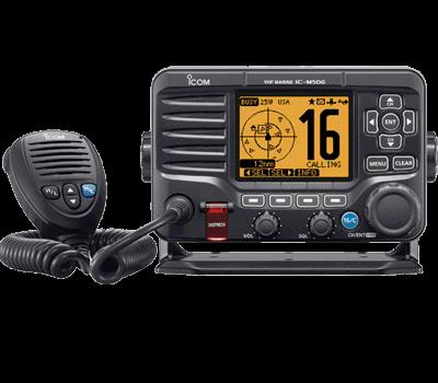 Icom M506 VHF DSC w/ Hailer, N2K, Fixed Mount VHF Radio