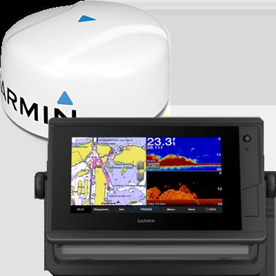 GPSMAP 742xs+ MFD, BlueChart g3 w/Radar