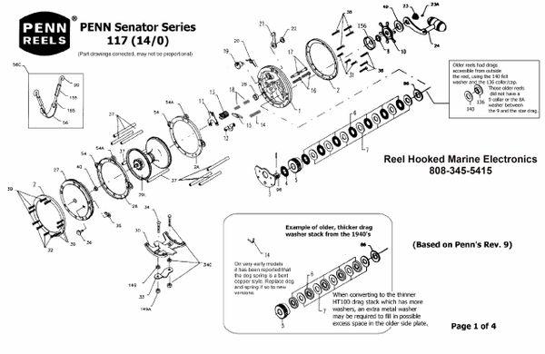 Penn Senator 117L 14/0 Schematic