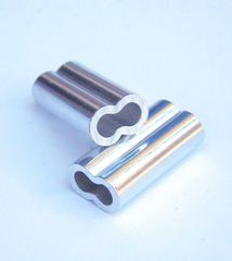 Aluminum Double Barrel Crimp Sleeve