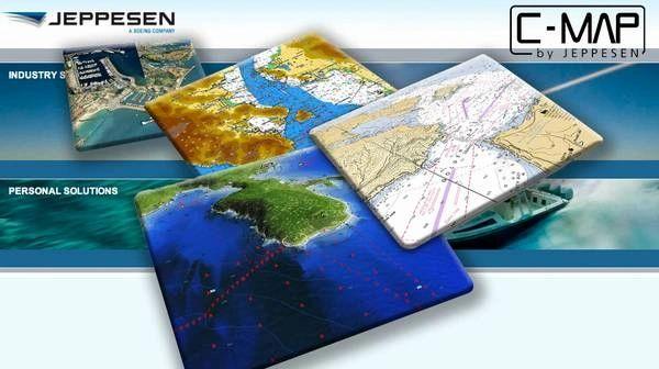 C-MAP 4D Local Hawaiian Islands Chart Card on