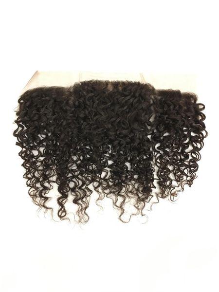 """Silk Full Lace Closure 13""""x4"""" 100% Virgin Human Hair 12"""" Bohemian"""