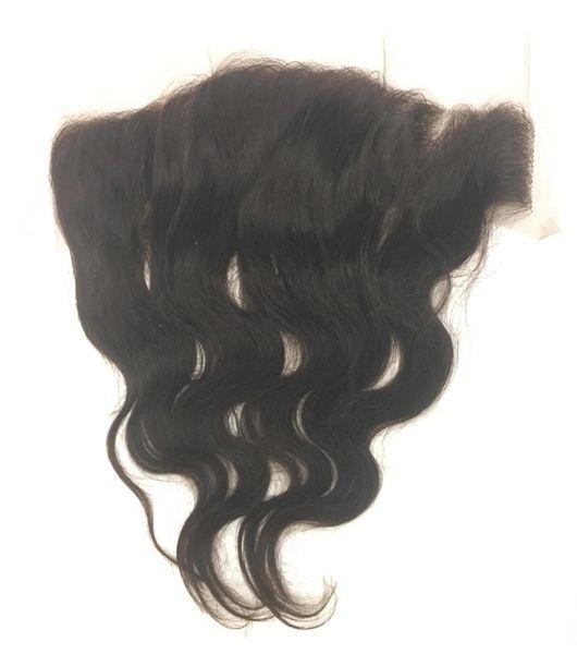 "Silk Full Lace Closure 13""x4"" 100% Virgin Human Hair 12"" Body Wave"