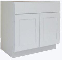 White Shaker Vanity Cabinet WS-2421