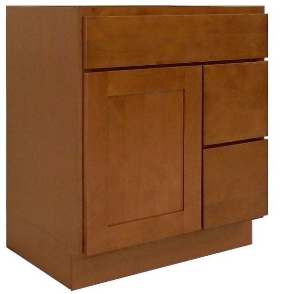 Honey Shaker Vanity Cabinet HS-3021DR