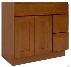 Honey Shaker Vanity Cabinet HS-3621DR