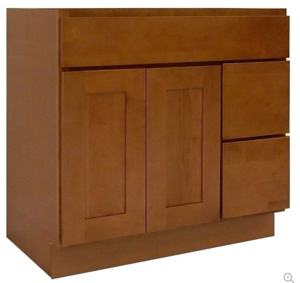 Honey Shaker Vanity Cabinet HS-3621DR