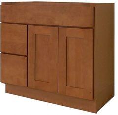 Honey Shaker Vanity Cabinet HS-4221DL