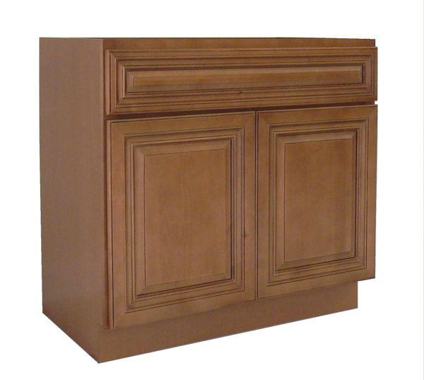 Coffee Glaze Vanity Cabinet COG-3621