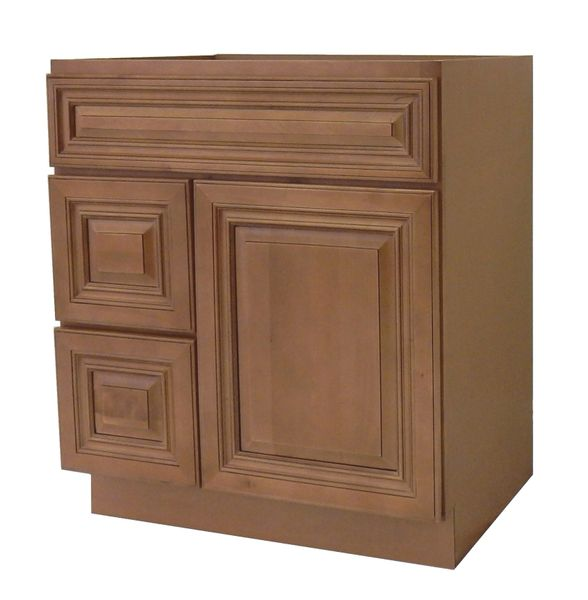 Coffee Glaze Vanity Cabinet COG-3021DL