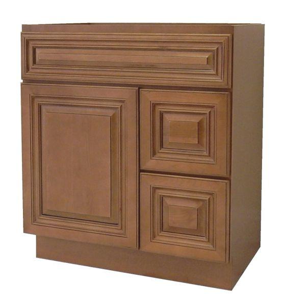 Coffee Glaze Vanity Cabinet COG-3021DR