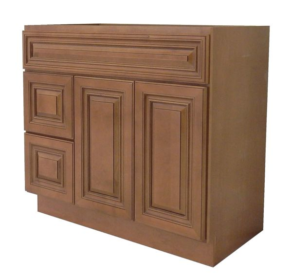 Coffee Glaze Vanity Cabinet COG-3621DL