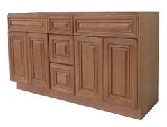 Coffee Glaze Vanity Cabinet COG-6021DD