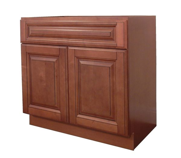Maple Mocha Vanity Cabinet MM-2421
