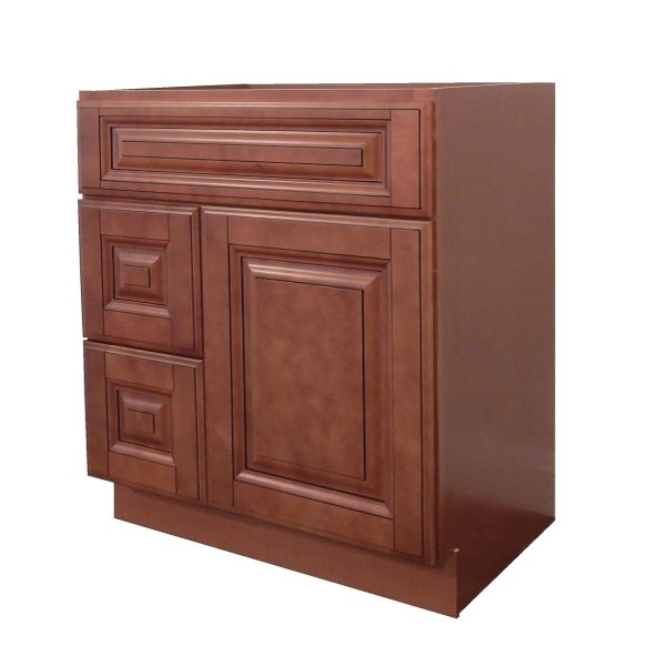 Maple Mocha Vanity Cabinet MM-3021DL