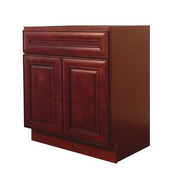 Maple Cherry Vanity Cabinet MC-3021