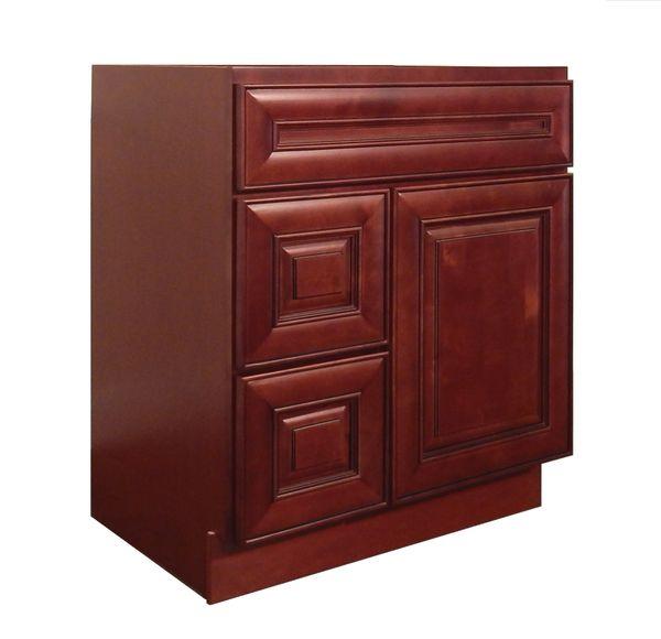 Maple Cherry Vanity Cabinet MC-3021DL