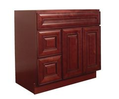 Maple Cherry Vanity Cabinet MC-3621DL