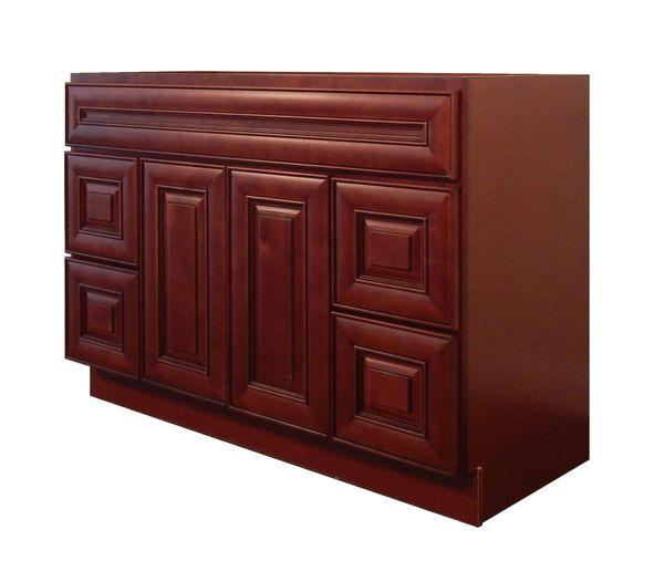 Maple Cherry Vanity Cabinet MC-4821D