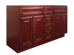 Maple Cherry Vanity Cabinet MC-6021DD