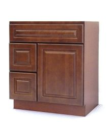 Chestnut Chocolate Vanity Cabinet CC-3021DL