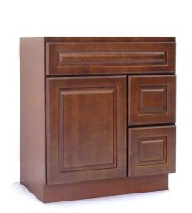 Chestnut Chocolate Vanity Cabinet CC-3021DR