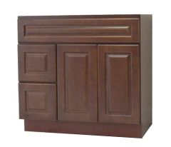 Chestnut Chocolate Vanity Cabinet CC-4221DL
