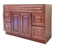 Chestnut Chocolate Vanity Cabinet CC-6021D