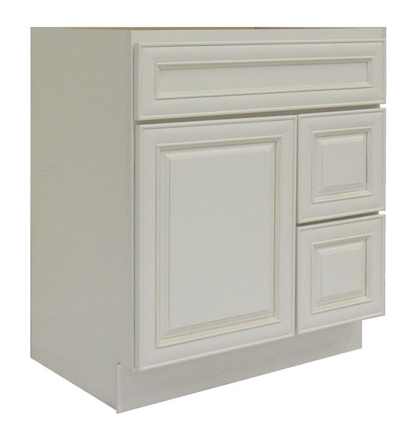 Antique White Vanity Cabinet AW-3021DR