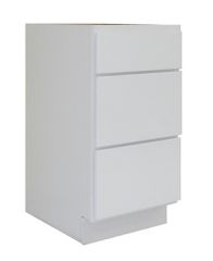 White Shaker Vanity Drawer Pack WS-V12