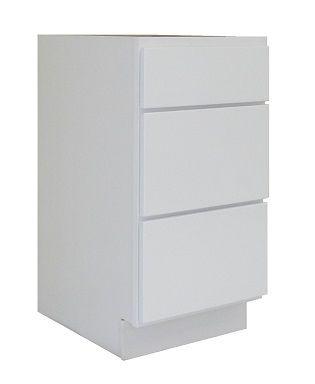 White Shaker Vanity Drawer Pack WS-V18