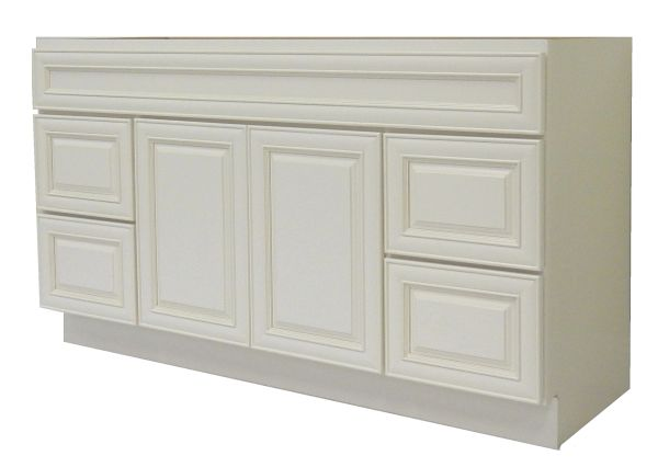 Antique White Vanity Cabinet AW-4821D