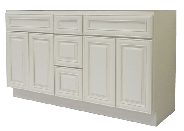 Antique White Vanity Cabinet AW-6021DD