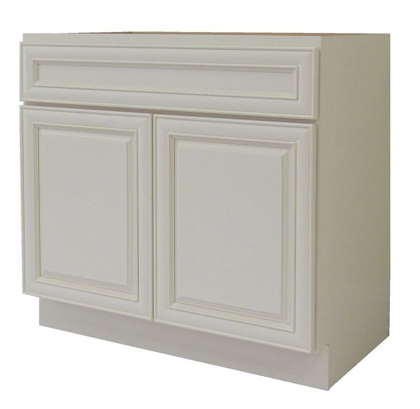 Antique White Vanity Cabinet AW-3021