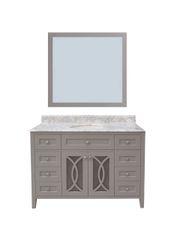 "Margaret Garden Collection Vanity Set, 48"", Cayman Grey"