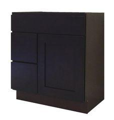 Beech Espresso Vanity Cabinet BE-3021DL