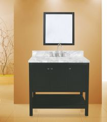 "Hampton Bay Collection Bathroom Vanity Set , 36"" Silky Black"